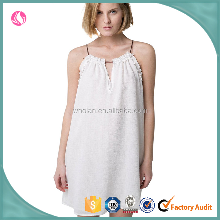 Spaghetti strap sexy design dress for women, fashion short dress, alibaba clothes