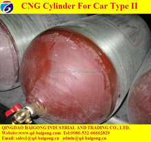 CNG Gas Cylinder Type II ISO11439 Standard Vehicle Cylinder