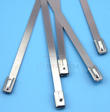 316# Grade, 4.6mm Width Stainless Steel Cable Tie