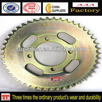 Chinese motorcycle spare part ax100 motorcycle sprocket for sale