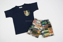 China cheap wholesale casual 2pcs boys clothes