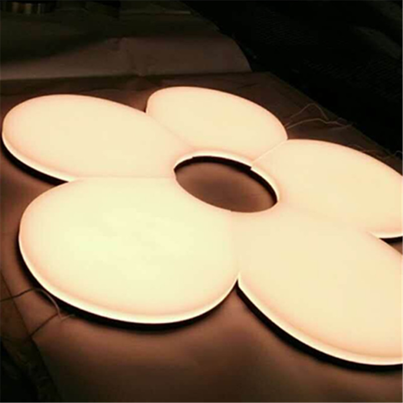 3D lighting signage front and edge lit acrylic letters <strong>sign</strong> for display