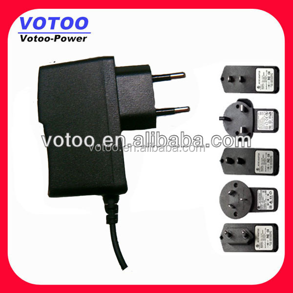 UK/US/ European/EU plug power supply 12v 1A 1.5A AC TO DC CE