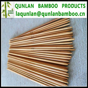 Double Pointed Bamboo Needles