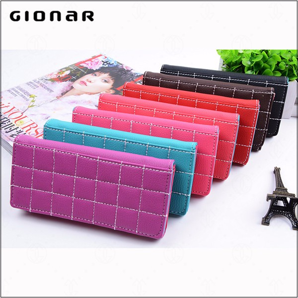 Design Your Own Cell Phone PVC Wallet Wholesale Purses Handbags Ladies Women Bags