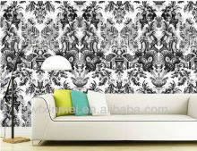 Matte surface Eco-solvent Art Wall Paper for indoor decoration