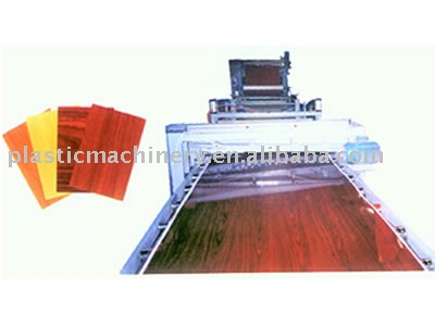 PVC Decoration Sheet production Line/pvc free paint board product line