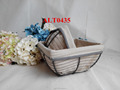 wire frame storage baskets iron small baskets for decoration