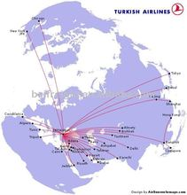 Air freight from Guangzhou to Basra, Iraq by Turkish Airlines