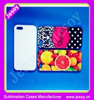 JESOY Wholesale Mobile Phone Cover For iPhone 6 3D Sublimation Blanks Cases