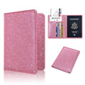 Fashion Design Women Leather Cover Personalized Passport Holder