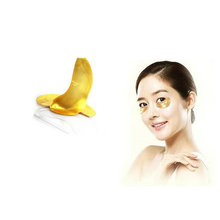 24K Gold Collagen Crystal Skin Care Anti-aging Hydrating Brightening Cooling Gel Effect Eye Mask salonpas gel patch
