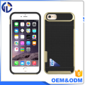 china supplier double cell phone case card case case oem for iphone 7