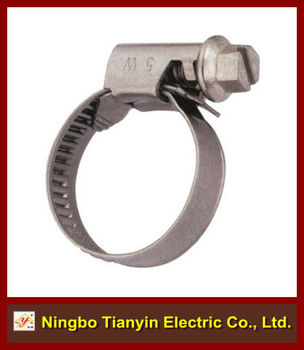 12mm bandwidth strong torque german type hose clamp