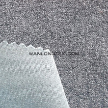 Faux Wool Fur Fabric Made of Polyster And Nylon