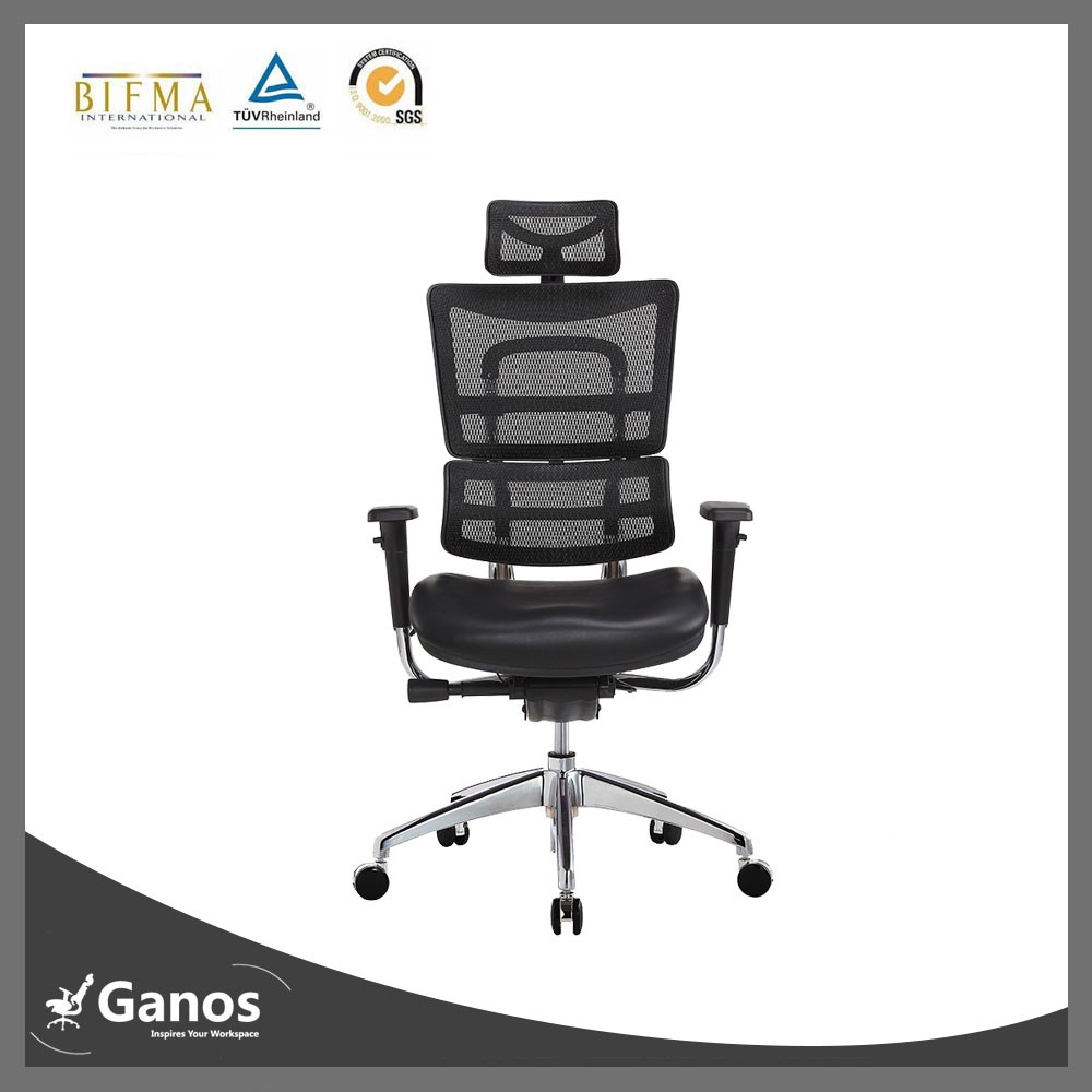 high back black mesh office chair ergonomic