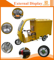 fashion petrol cargo tricycle for adults