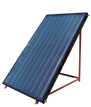 flat plate solar collector with selective absorber coating for pressurized solar water heater solar thermal hot water project