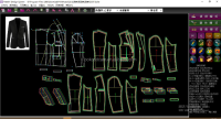 BOK cad cam system textile design software for Garment to Pattern Design & Grading intelligently