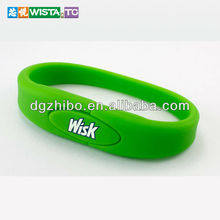 promotion OEM bracelet usb flash memory/cheapest usb flash