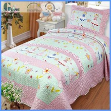 Baby printed patchwork 100% cotton quilt