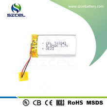 850mAh rechargeable Lithium polymer battery for laptop