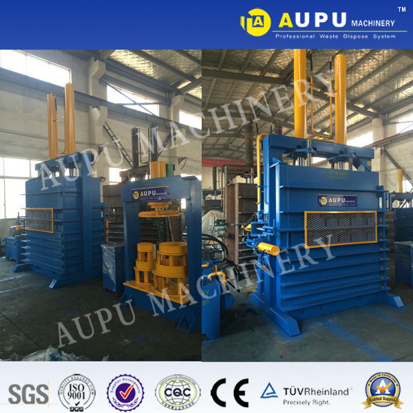 Y82-100LT scrap tire baler machine Best-selling in Russia