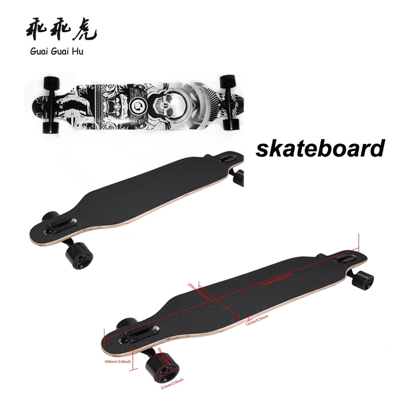 Multi-color blank wood skateboard decks wholesale custom complete finger skateboard factory price