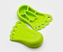 Cute foot shape door protector door stop