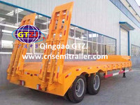 2 axle cylinder tipping trailer/lorry/dump truk for sale
