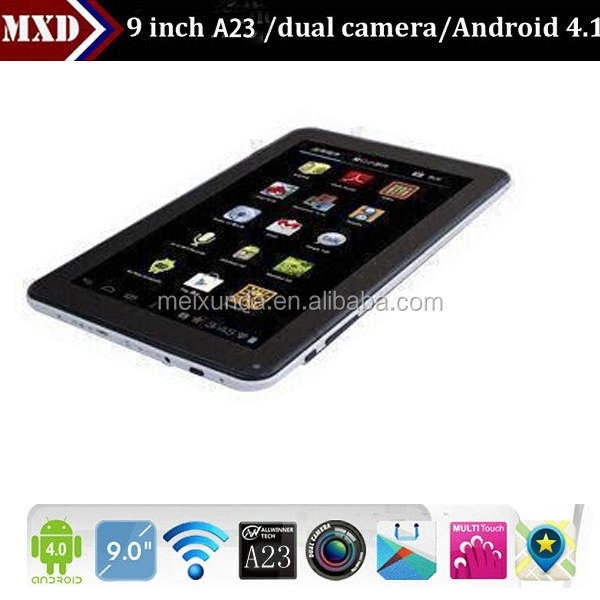 9inch OEM Android 4.2 cheap dual core a23 skype tablet pc download