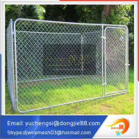 Factory wholesale large metal welded mesh hot wire dog fence dog kennel
