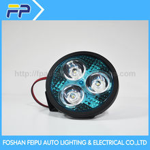 FP auto lighting extra bright 3 inch round led sealed beam headlight