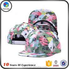 wholesale floral printing snapback hat for children