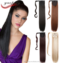 wholesale cheap alibaba express 24inch straight ponytails hair