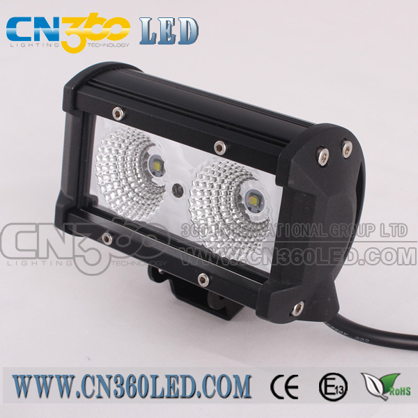 2 x 10w offroad led light bar flood spot light bar