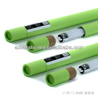 rotating led tube 1200mm 18W T8 with milky or transparent cover