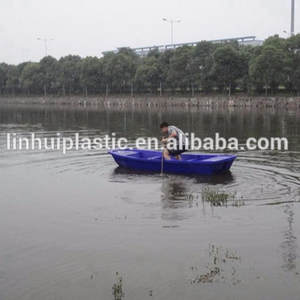 Hard plastic boat/commercial fishing boat/4m trawler boat for sale