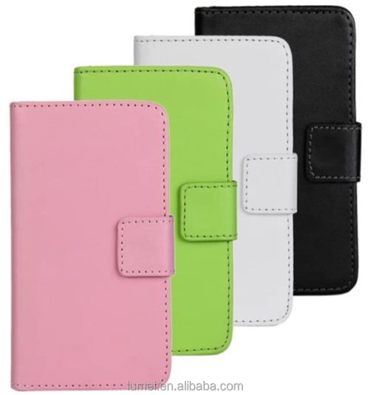 Magnetic Leather Wallet Cover Stand Phone Case For Samsung Galaxy MIini 2 S6500