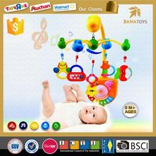 Top selling musical appease toys baby mobile hanger