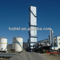 KDON-250/500 lower pressure air separation plant 250Nm3/h oxygen generating machine