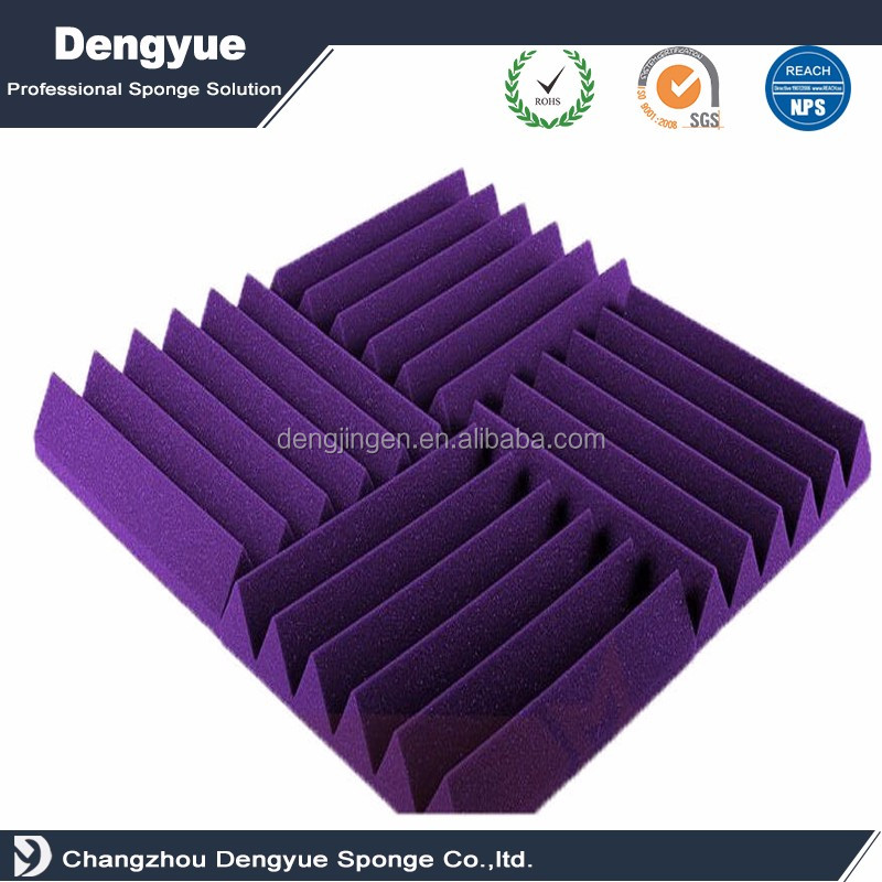 acoustically transparent polyurethane foam wedge acoustic foam for sale for sale
