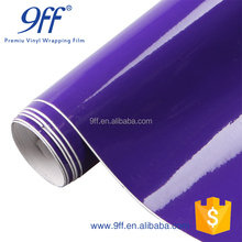 1.52*20M Hot Sales With Air Bubble Free Pink Glossy Candy Colored Car Body Vinyl Wrap