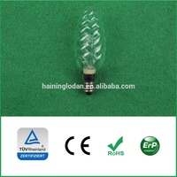 ECO TW35 30W energy saving halogen bulbs, twisted candle