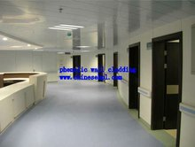 Fireproof HPL Interior Wall Cladding/Compact Laminate Curtain Wall System