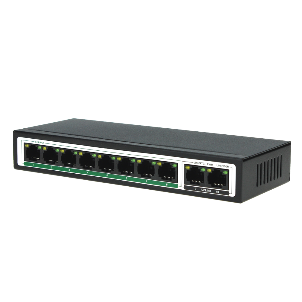 shenzhen foctory 8 port gigabit poe switch Smart mini poe switch ethernet switch board