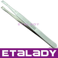 Girl Automatic Eyebrow Tweezers With Magnifying Glass Stainless Tweezer With Led