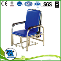 BDEC101-D Commercial Furniture stainless steel hospital arm chair