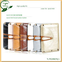 2013 New products Belt Clip Book PU Leather case for ipad mini with stading design,bag design case for ipad mini