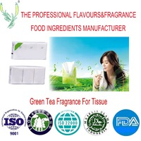 Natural fresh fragrance, longlasting and good smell green tea fragrance used in tissue products